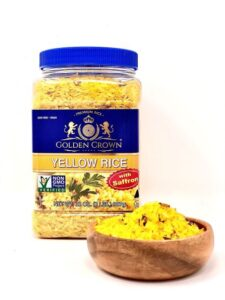 Saffron Yellow Rice, Kosher, GMO Free, Vegan, 32 oz (2 Lbs.) SIMPLE... </p srcset=